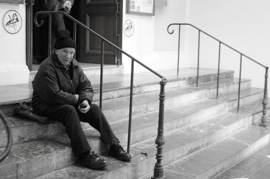 Photographer Photograph - Sometimes I Sit The Other Side by Jez C Self