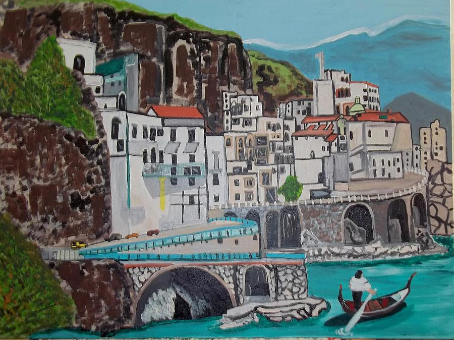 Somewere In Italy Painting by Jeffrey Foti