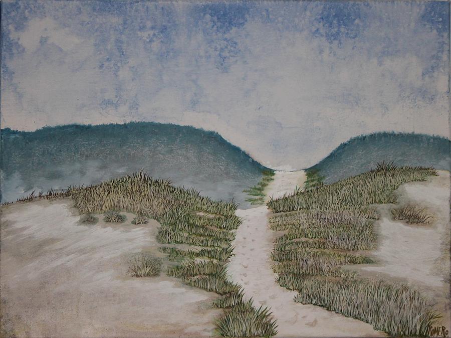 Landscape Painting - Somewhere In Florida by Antonio Romero