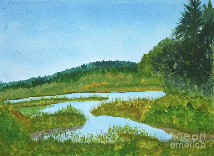 Somewhere In Maine Painting