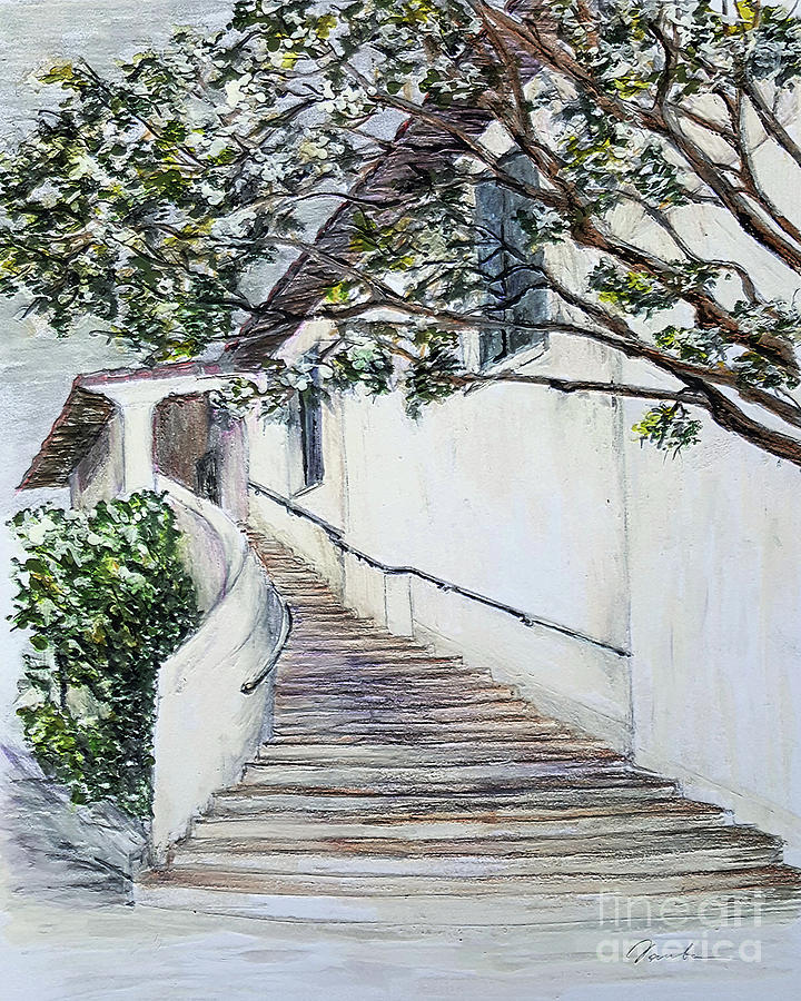 Somewhere in Santa Barbara by Danuta Bennett