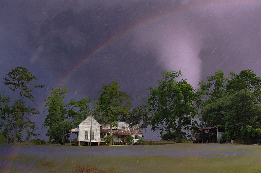 Landscapes Photograph - Somewhere Over The Rainbow by Jan Amiss Photography
