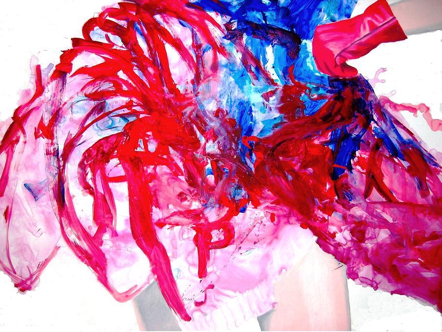 Dress Painting - Sommerkleid by Eckhard Besuden