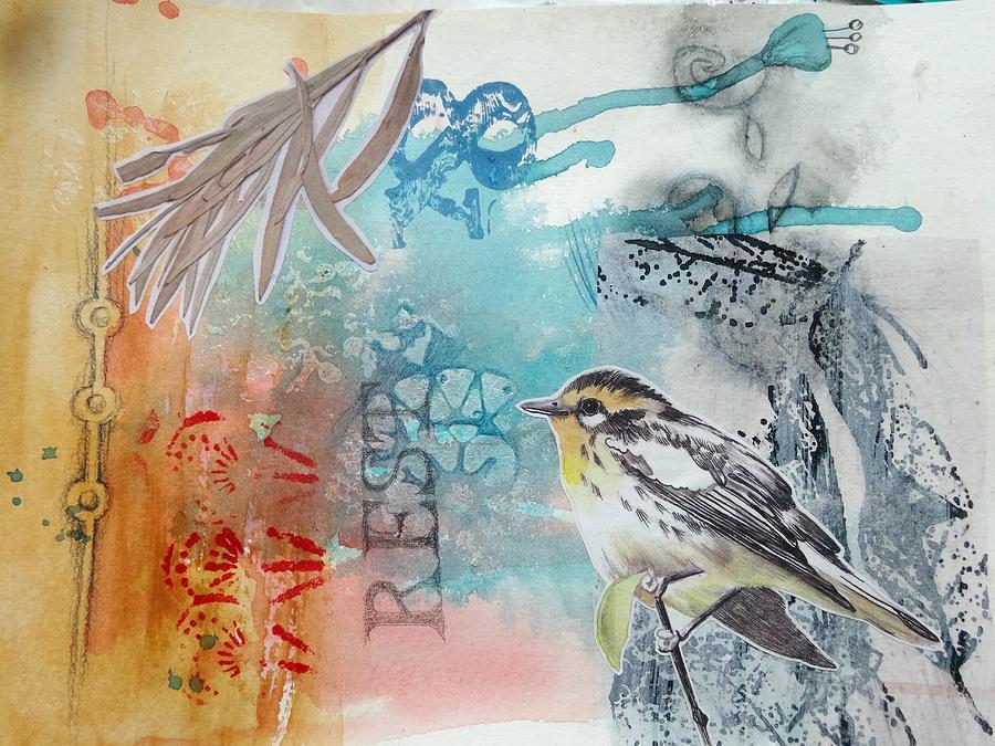 Bird Mixed Media - Song Of Life  by Rose Legge