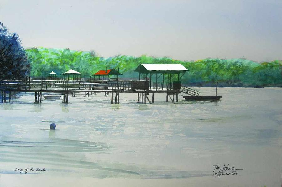 Bluffton Painting - Song Of The South by Tim Johnson