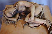 Mortality Sculpture - Songline Winter Threnody by Susan McMahon