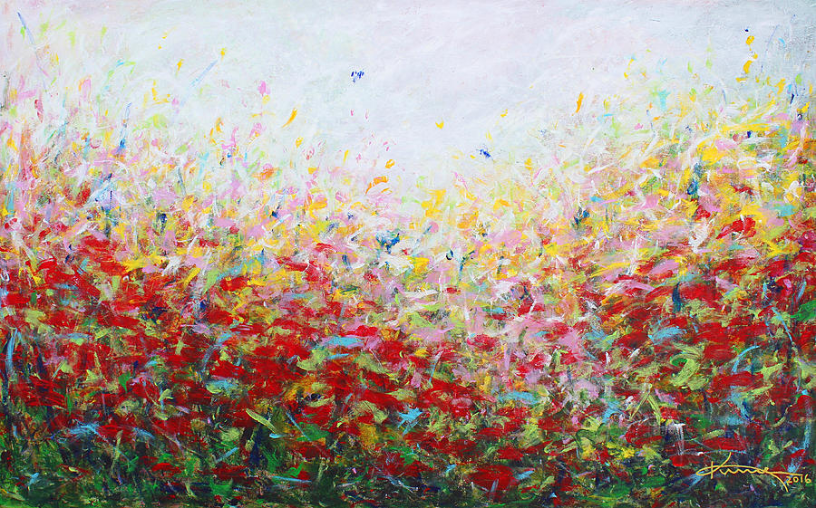Songs Of Spring Painting - Songs Of Spring 3 by Kume Bryant