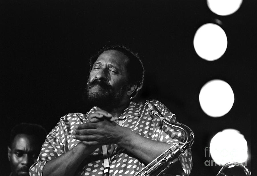 Jazz Photograph - Sonny And Many Moons by Enid Farber