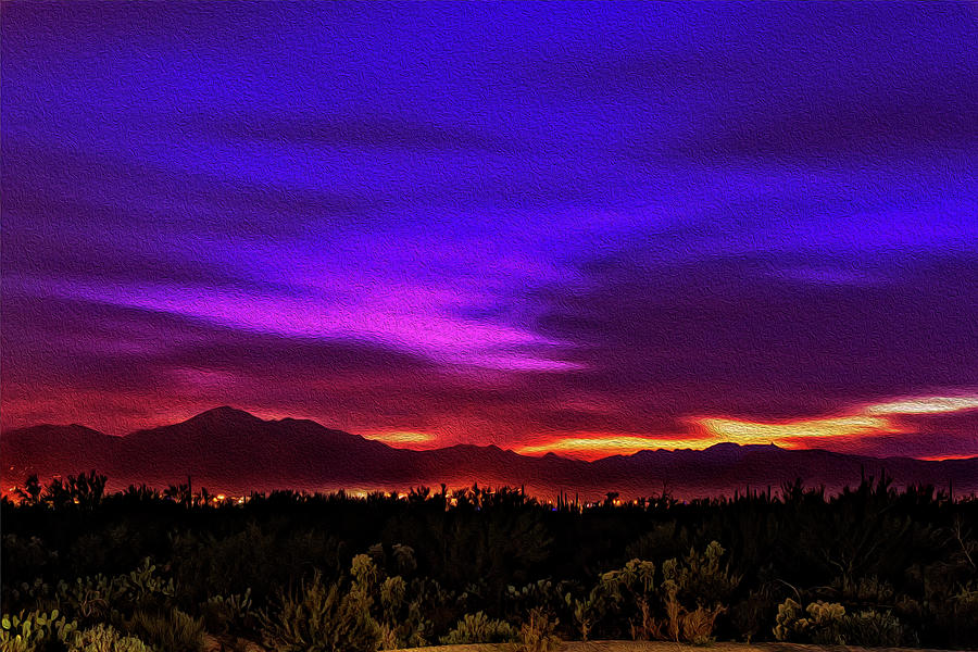 Sonoran Sunset No1 Photograph