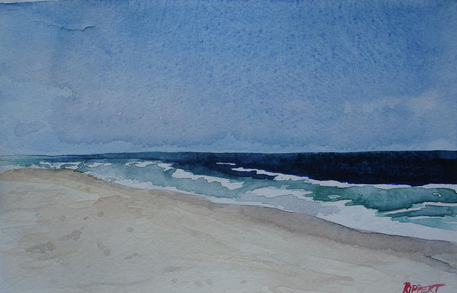 Seascape Painting - Soothing Surf by Heather Rippert