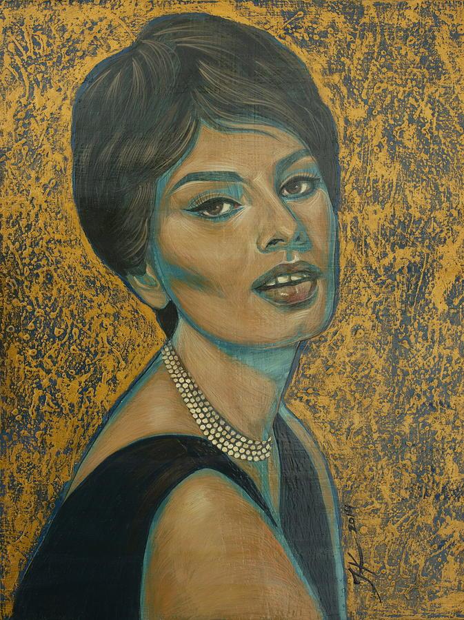 Sophia Loren Painting - Sophia Loren by Jovana Kolic