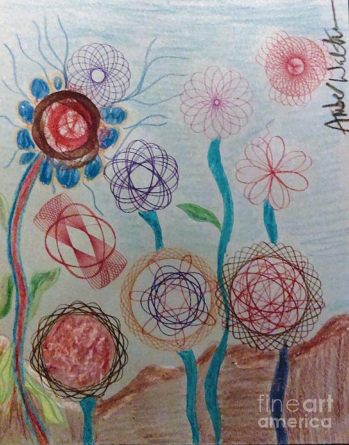 Sophias Flowers Drawing