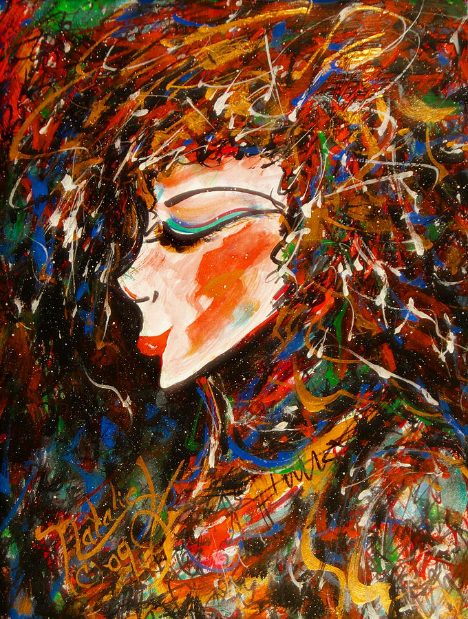 Sophisticated Painting - Sophisticated Lady by Natalie Holland