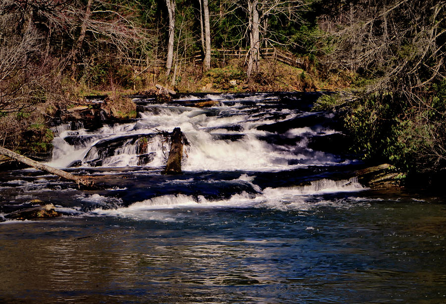 Waterfall Photograph - Soque Falls 005 by George Bostian