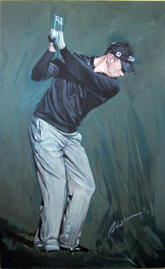 Soren Hansen Painting - Soren Hansen by Mark Robinson
