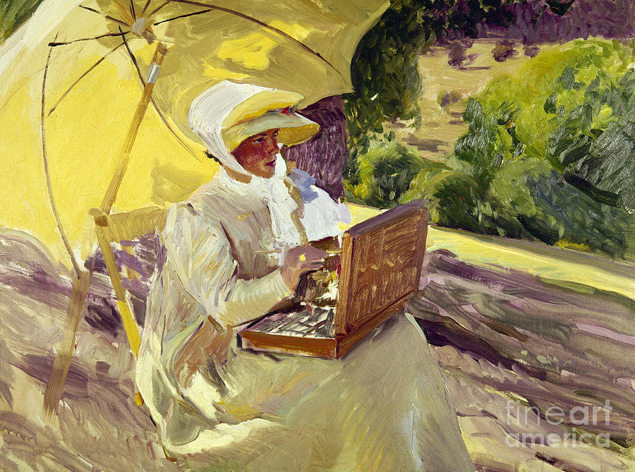 1907 Photograph - Sorolla: Painter, 1907 by Granger