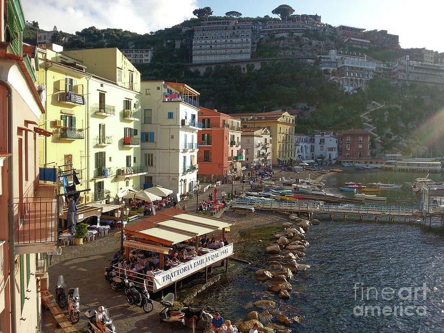 Sorrento Port of Marina Grande Harbour by Gregory Dyer