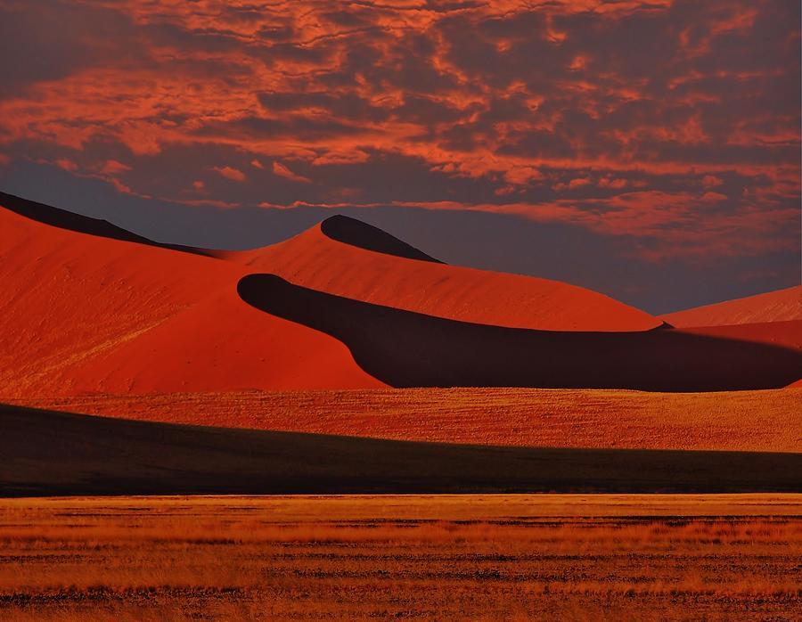 Sossusvlei Series-lesser Dunes Photograph