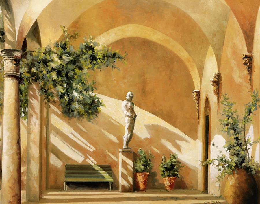 Sotto Il Portico Painting