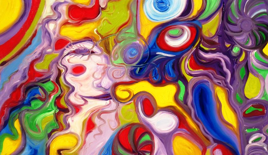 Soul Painting - Soul by Alfredo Dane Llana