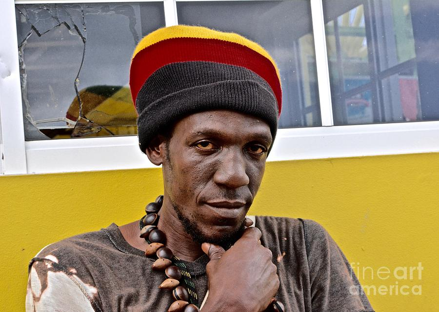 Negril Photograph - Just A Soul Brother by Andrea Spritzer