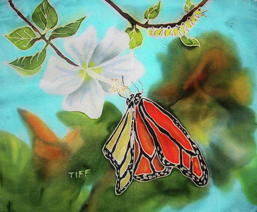 Butterfly Painting - Soul Changes by Tiff