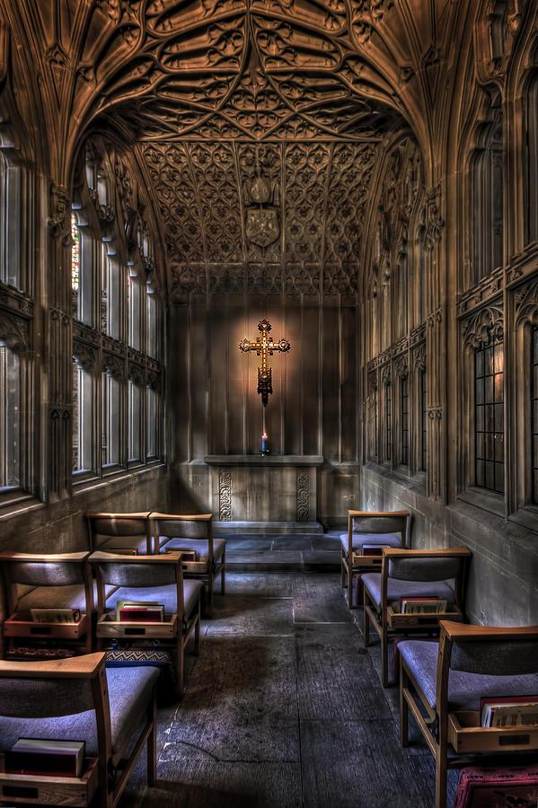 Abbey Photograph - Soul Destination by Evelina Kremsdorf