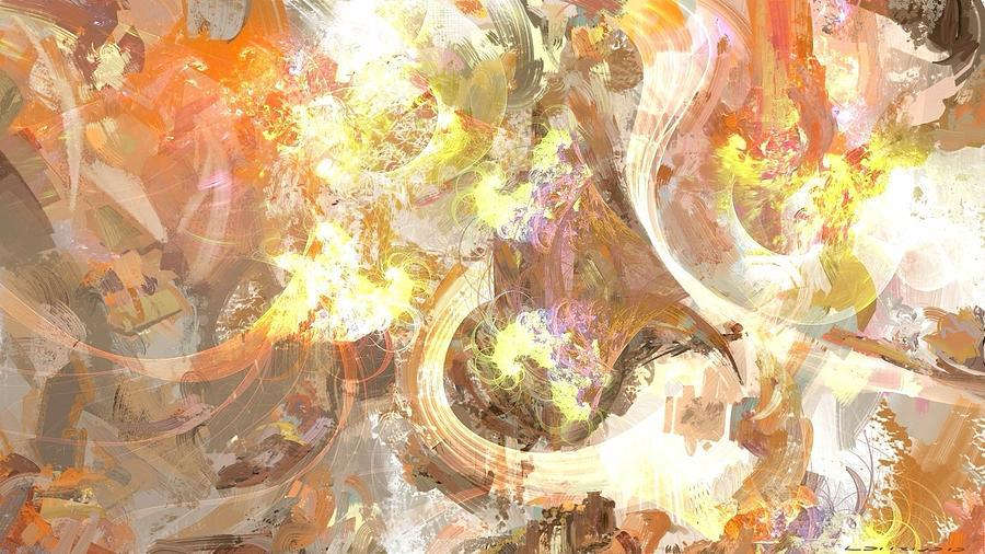 Soul Painting - Soul Fire by Jeffrey Lohrius