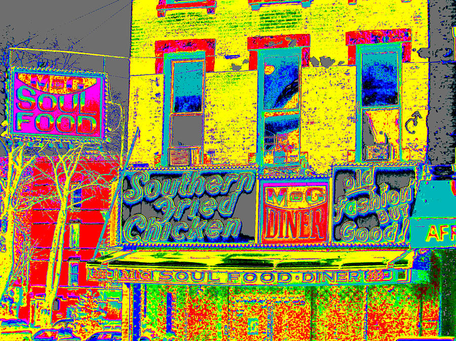 Harlem Photograph - Soul Food by Steven Huszar