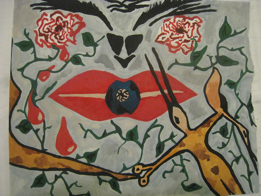 Soul Painting by Ildiko Szilank