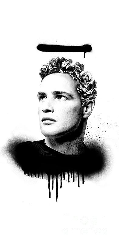 Soul Not For Sale Marlon Brando Iphone 6 Plus Cover Case 2016 By Brailliant Contemporary Fashion Pop Art Prints