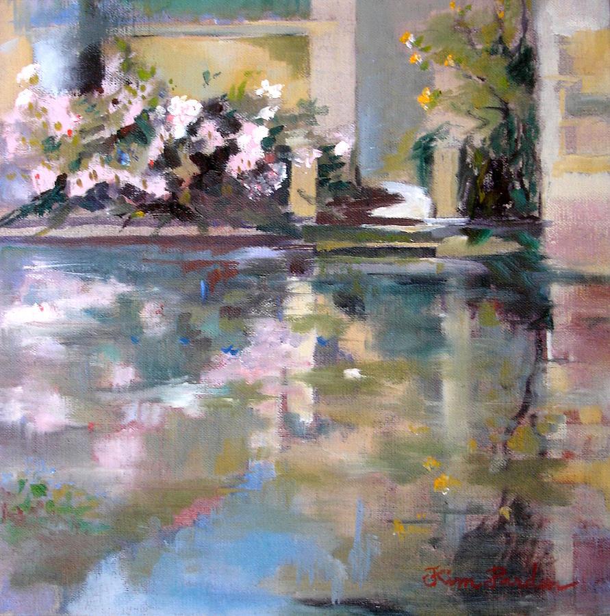 Soul of flowers Painting by Kim PARDON