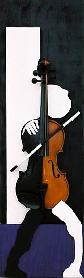 Violin Sculpture - Soul Of Music by Steve Karol
