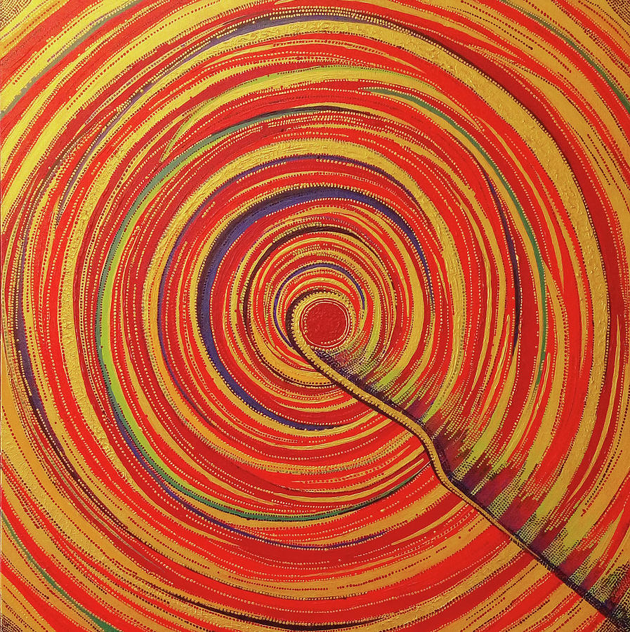 Soul Point - Rangrezaa Painting by Arpita B Ruparel