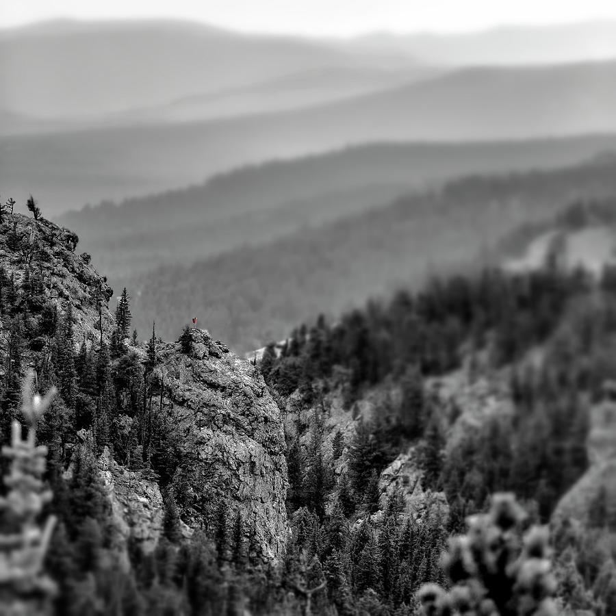 Mountains Photograph - Soul Searching by Garett Gabriel