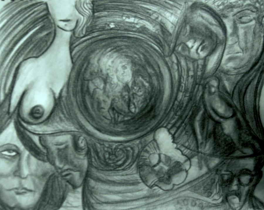 Dream Drawing - Soul Sleeper by Richard  Hubal