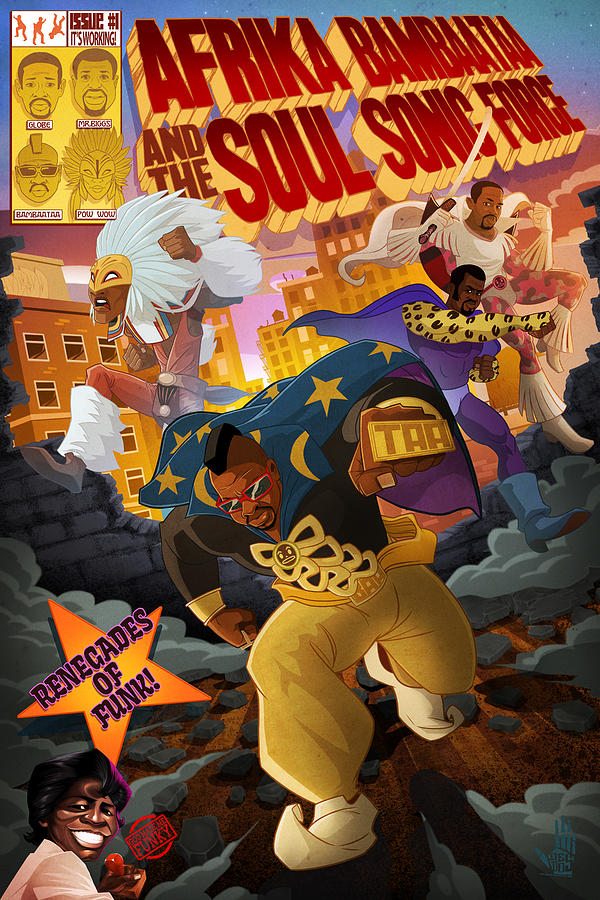Soul Sonic Force by Nelson  Dedos Garcia
