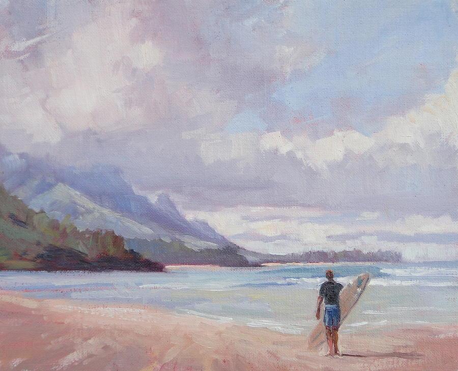 soul surfer painting by jenifer prince
