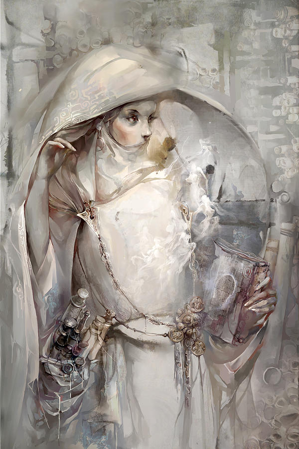 Soul Digital Art - Soul by Te Hu