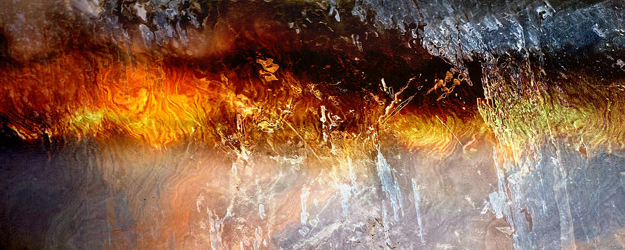 Large Abstract Painting - Soul Wave - Abstract Art by Jaison Cianelli