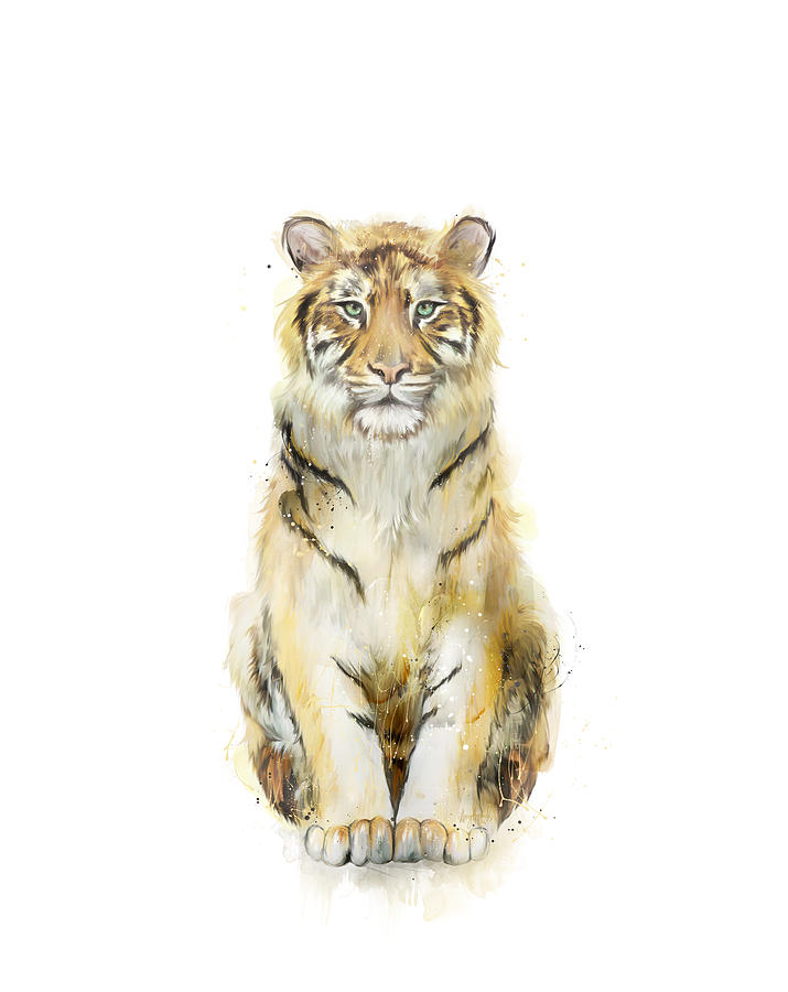 Tiger Painting - Sound by Amy Hamilton