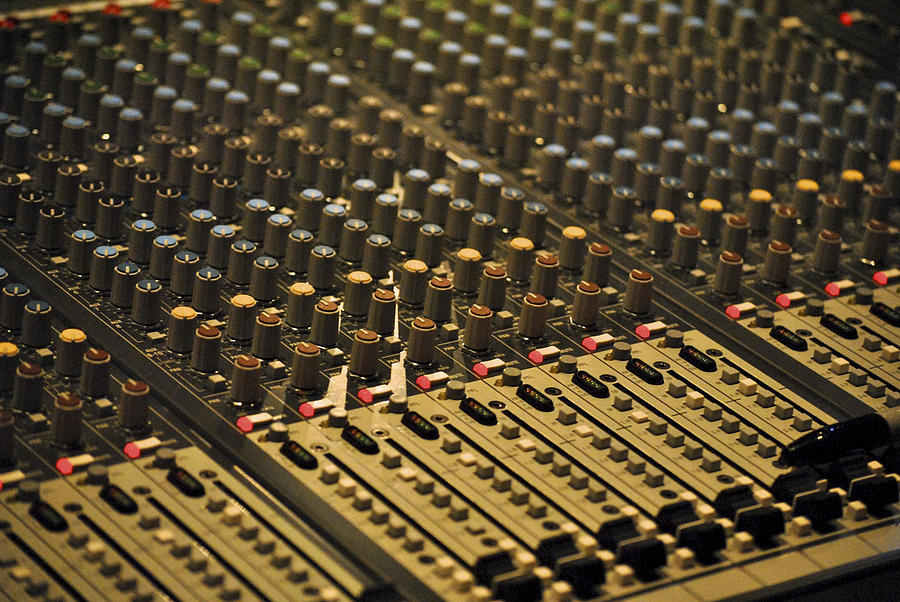 Music Photograph - Soundboard by Kelly E Schultz