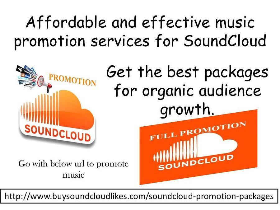 Soundcloud Promotion Services by Sandra