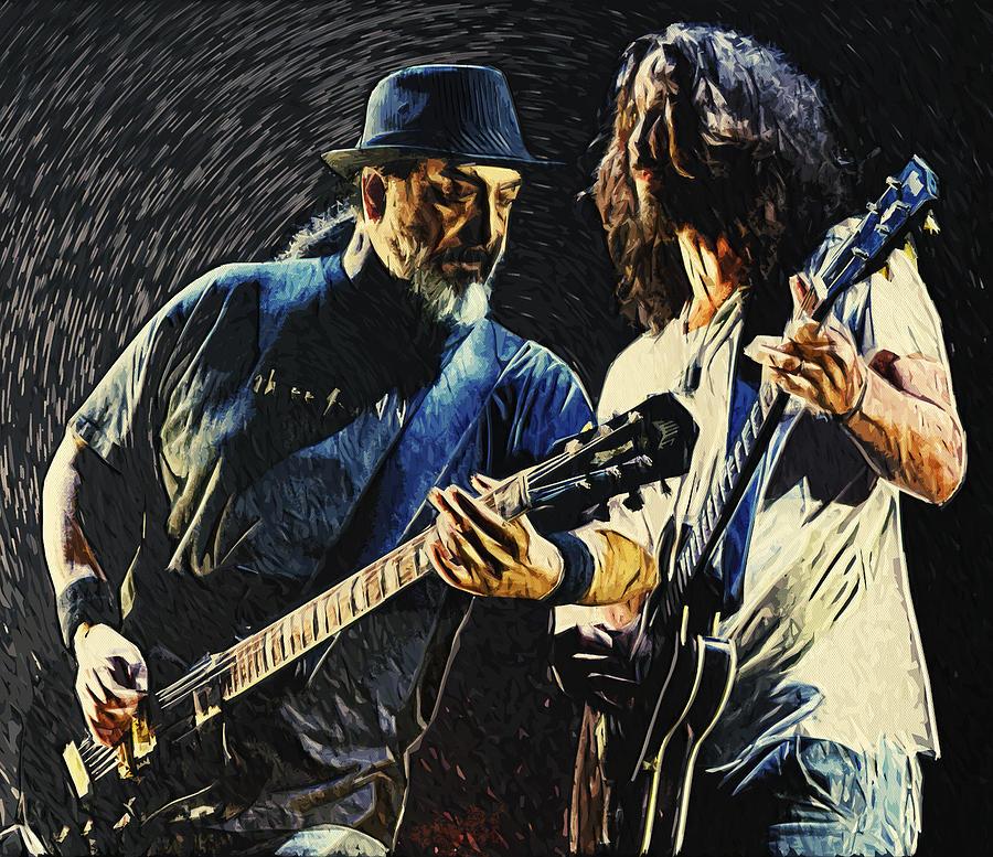 Soundgarden Digital Art - Soundgarden by Zapista