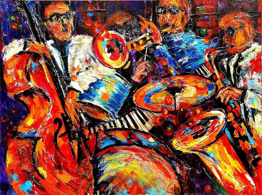 SOUNDS OF JAZZ by Helen Kagan