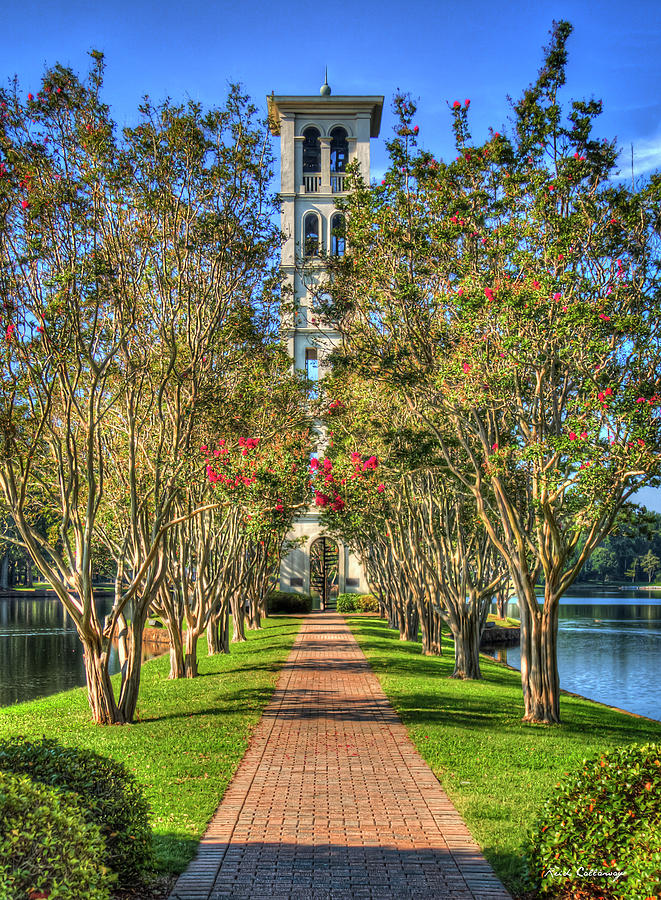 c7322445a9817 Sounds Of Victory The Bell Tower Furman University Greenville South  Carolina Art by Reid Callaway