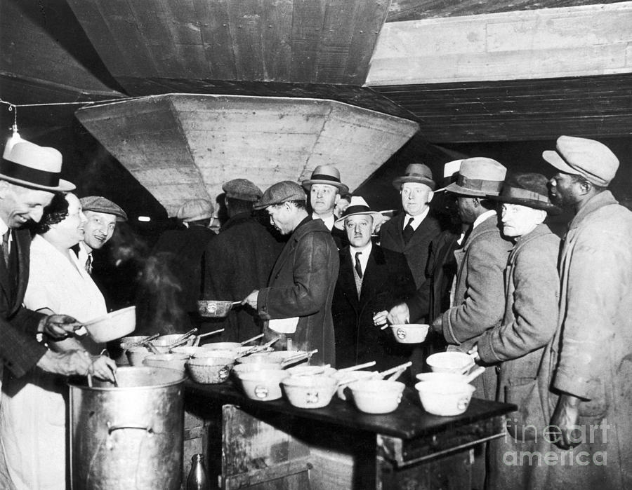 What Are Soup Kitchens During The Great Depression