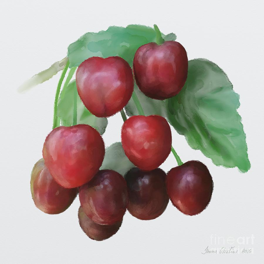Sour Cherry Painting - Sour Cherry by Ivana Westin