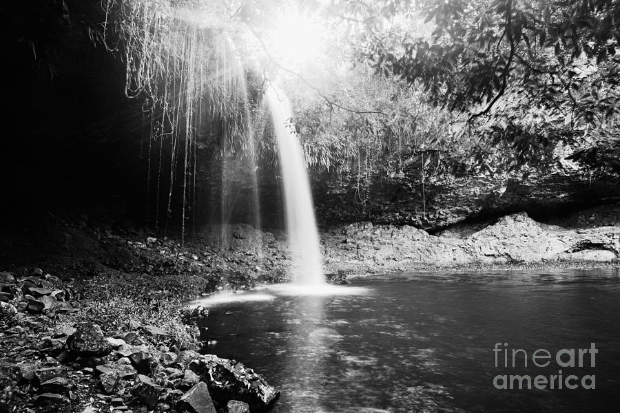 Water Fall Photograph - Source Of Love by Pierre GAY