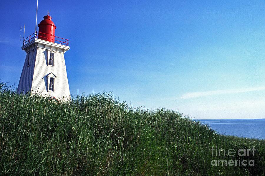 Light House Photograph - Souris Lightstation Prince Edward Island by Thomas R Fletcher